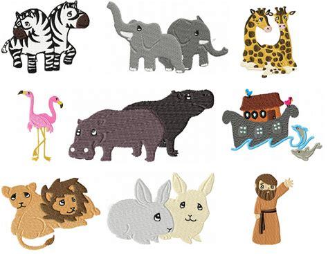 Noah S Ark Animal Clip Art Noahs Animals Noah S Ark Noah S Ark While Animals Are Going To The Ark Drawing With Color