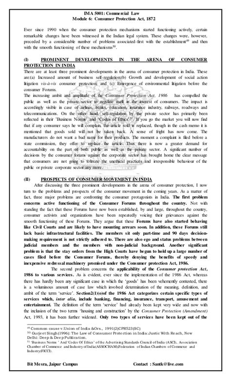 section 15 of consumer protection act consumer protection act