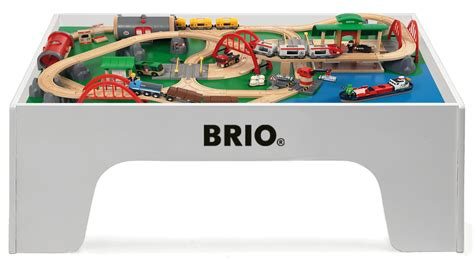 brio train track sets brio wooden train table set mualsambel