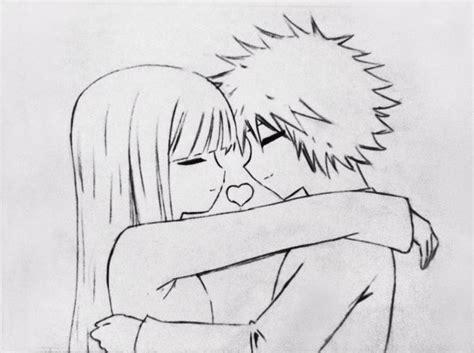 imagenes para dibujar a lapiz de anime amor para dibujar anime faciles de amor imagui