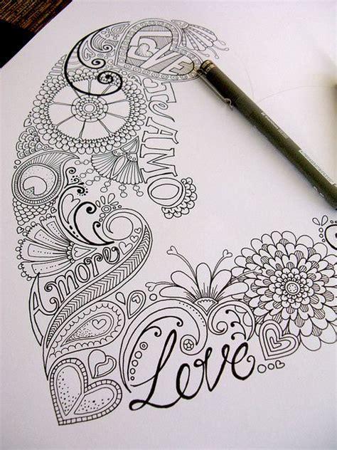 doodle bar burlesque drawing le coloriage pour adulte peut transformer votre int 233 rieur