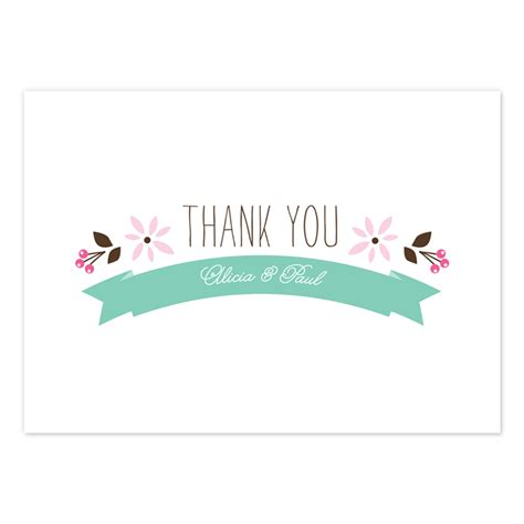 Thank You Cards - thank you card beautiful floral thank you cards folk