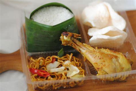 Nasi Kotak Paket Keren Ayam Goreng Serundeng nasi kotak murah di jakarta utara nasi kentjana