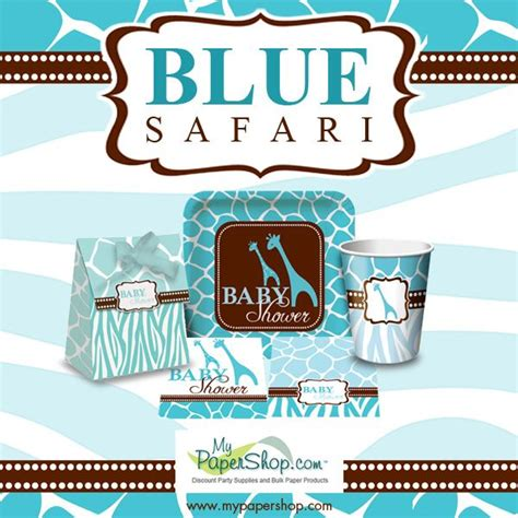 Blue Safari Baby Shower by 14 Best Safari Blue Baby Shower Images On