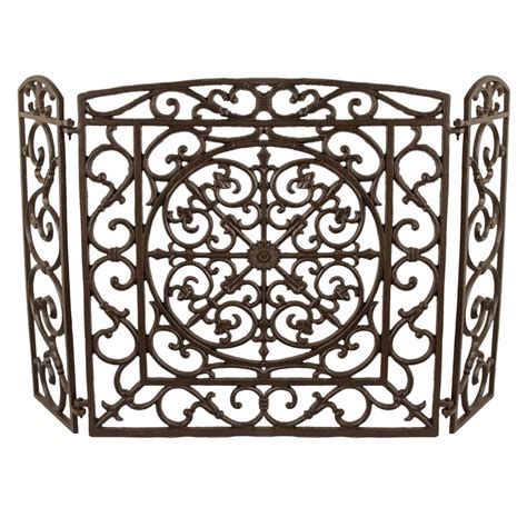 cast iron fireplace screens cast iron screen by dibor notonthehighstreet