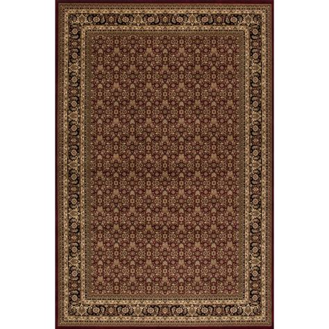 Concord Global Trading Persian Classics Herati Red 3 Ft Classics Rugs