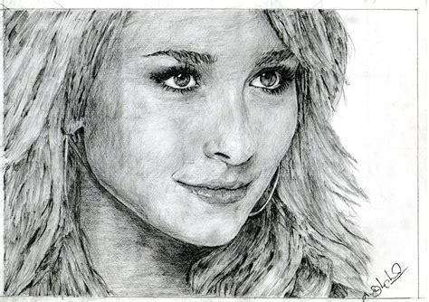 beautiful girl drawing by balachandar asokan