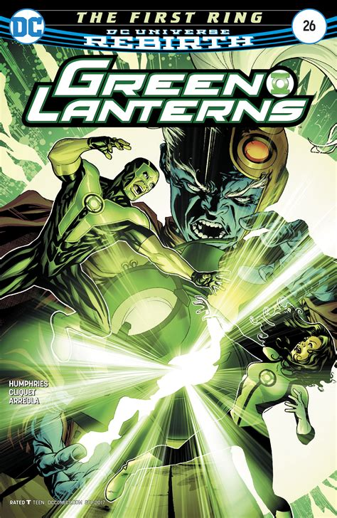 Dc Comics Green Lanterns 12 February 2017 dc comics rebirth spoilers review green lanterns 26 reveals fate of volthoom s travel ring