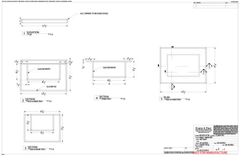 corian shop corian edge details shop drawings received back from