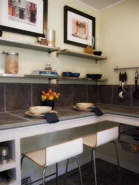 photos hgtv floating wood shelves and glass desk loversiq decorating with floating shelves hgtv