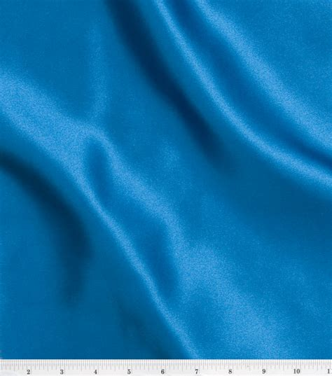 Decorating With Blue by Special Occasion Solids Stretch Satin Fabric Jo Ann