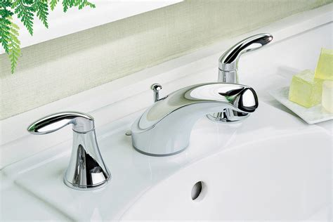 ed the plumber how various bathroom faucet styles measure