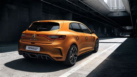 renault hatchback from the 2018 renault megane rs is the best hatchback at iaa