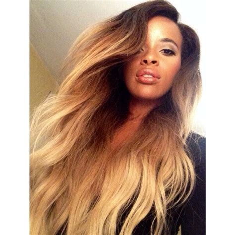blonde ombre hair weave 189 best black girls blonde hair images on pinterest
