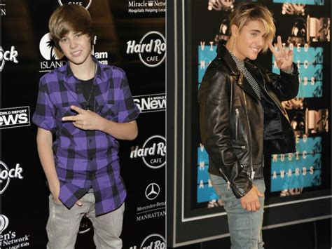 whats justin biebers favorite color justin bieber s style evolution is hilariously questionable