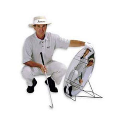 golf swing mirror swing image mirror at intheholegolf com