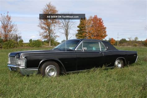 2 Door Lincoln by 1969 Lincoln Continental 2 Door Coupe