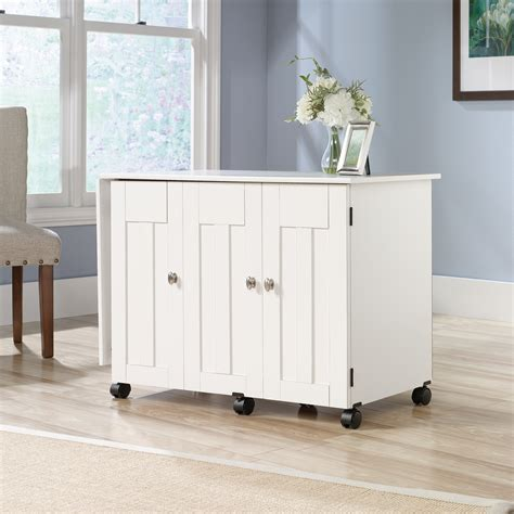 Sauder Sewing Cabinet by Sauder Select Sewing Craft Cart 414873 Sauder