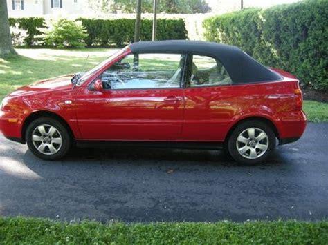 Volkswagen Cabrio 2001 by Sell Used 2001 Volkswagen Cabrio Gls Convertible 2 Door 2