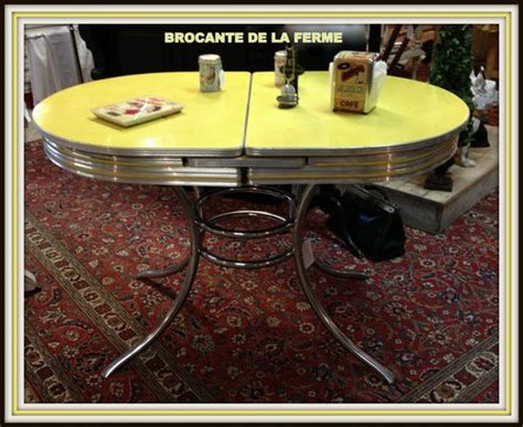 Superbe Table Cuisine Formica Annee 50 #1: 525c0833607d241310b93f22a04779ef.jpg