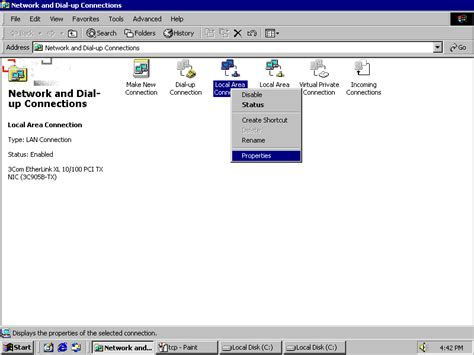 configure xp for local network local area connection windows xp drivers download