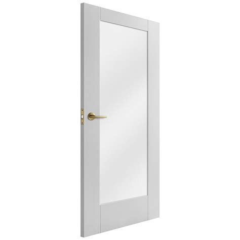 pattern 10 white glazed door liberty doors white primed un finished pattern 10 doors