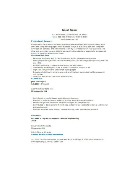 fresher java resume format filetype doc 21 fresher resume templates pdf doc free premium templates