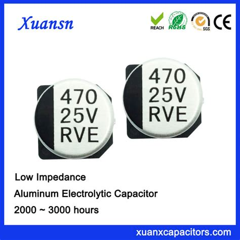 smd capacitor low esr smd low esr 470uf 25v surface mount capacitor is our low impedance products