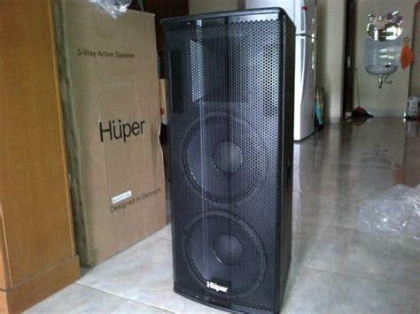 Jual Speaker Simbadda Bekasi dinomarket pasardino activ speaker 3 way huper hz212a 1100 watt x 2