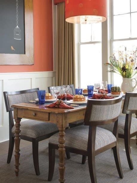Orange Dining Room 1000 Images About Paint Inspiration On Pinterest Orange Dining Room Benjamin And Orange