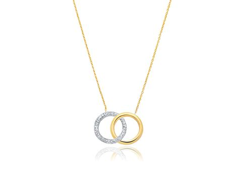 sparkle texture and polished entwined circle of