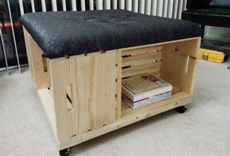 Diy Storage Ottoman Plans Mon Makes Things Storage Ottoman Diy