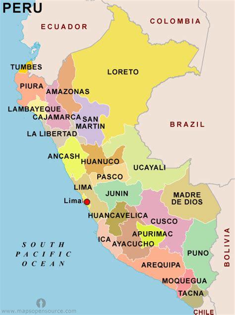 peru on the map peru country profile free maps of peru open source