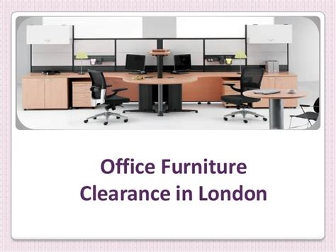 london office furniture clearance services