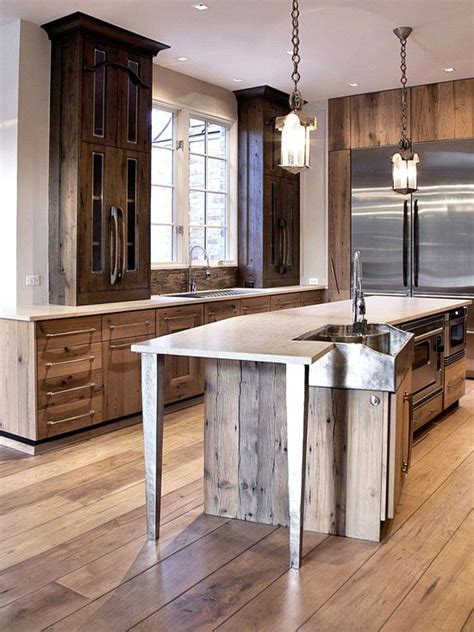 rustic contemporary kitchen contemporary kitchen rustic design rustic kitchen