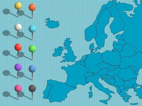 Uk And Europe Powerpoint Maps Powerpoint Map Templates