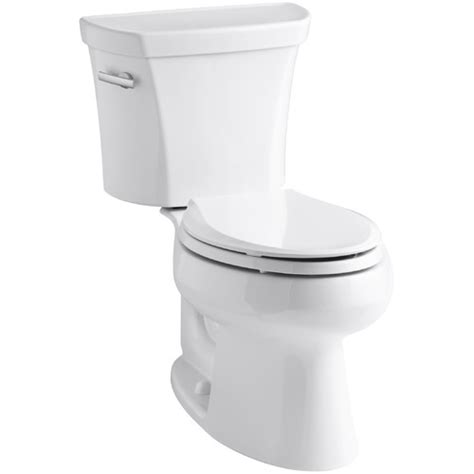 kohler wellworth comfort height kohler wellworth two piece round front 1 6 gpf toilet with