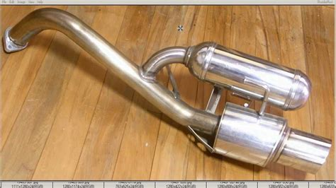 nissan micra exhaust hks hi power exhaust muffler nissan micra march k11 and
