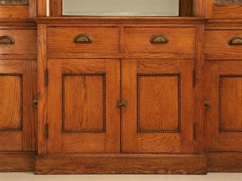 pretty quarter sawn oak cabinet bathroom inspiration