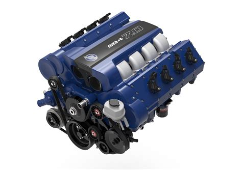 Ford Engines For Sale by Mercury Racing Reveals Sb4 7 0 Automotive Crate Engine