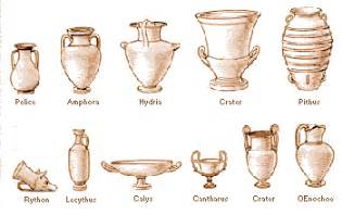 the vases of the goddess athena