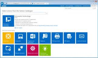 It Services Catalog Template by Service Desk With Itil Certification Alvao