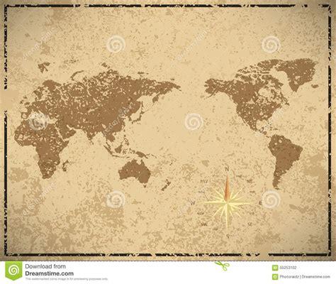 vintage map pattern world map in vintage pattern royalty free stock image