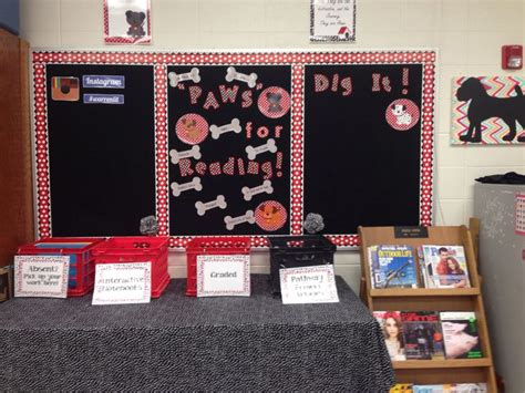 My Classroom For 2014 2015 Quot Paws Quot For Reading Dog Theme Paw Print Classroom Decorations