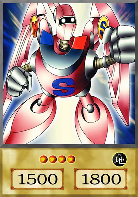 Kartu Yugioh Gamma The Magnet Warrior Common gamma the magnet warrior anime by yugiohfreakster on