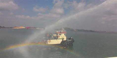 bakamla kepung kapal berisi limbah radioaktif di perairan