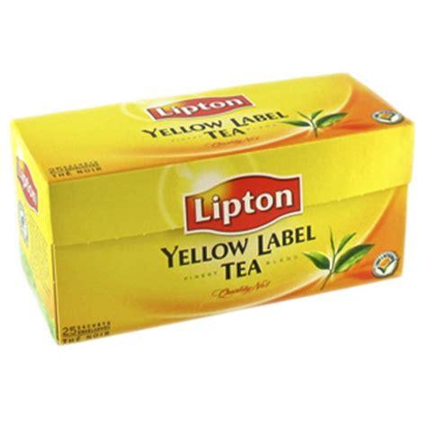Teh Lipton Yellow Label the lipton yellow label tea x25 sachets de 50g tous les