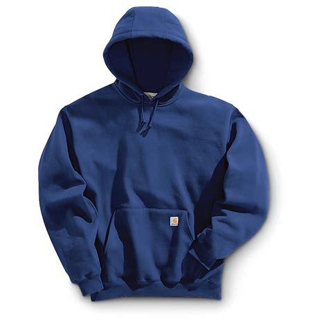 Sweater Carhart Roffico Cloth carhartt 174 heavyweight pullover hoodie 227999 sweatshirts hoodies at sportsman s guide