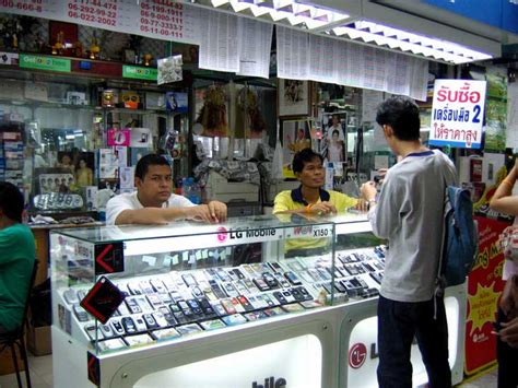 mbk mobile shop mobile phones in bangkok buying a mobile phone bangkok
