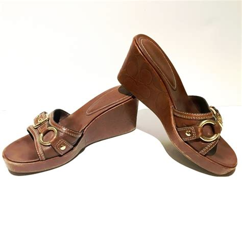 coach coach platform sandals from alexandra s closet on